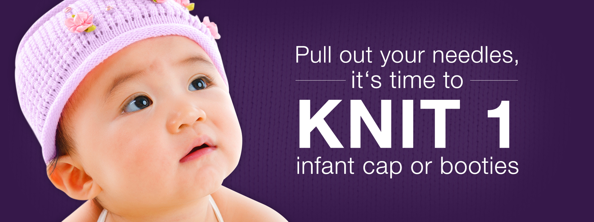 CLICK for Babies Knit 1 Hat Banner